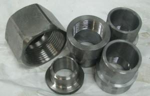 стальной фитинг, изготовление бобышек, производство бобышек, бобышки из нержавеющей стали