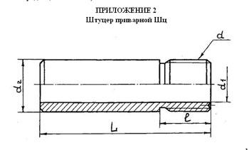 штуцер ш, изготовление штуцеров