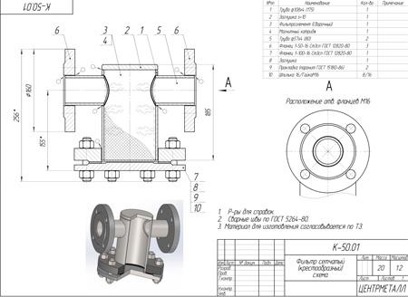 стальные фильтры