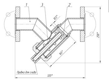 стальной фильтр , магнитный фильтр
