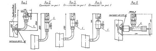 импульсные трубки. трубки перкинса, закладные конструкции зк, отборные устройства кипиа