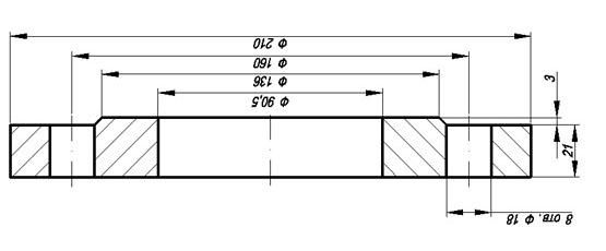 переходный фланцы, производство фланцев, изготовление нестандартных фланцев
