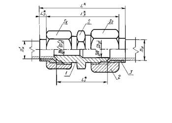 соединение разъемное, соединение для трубопроводов, соединение трубопроводов, соединение американка, соединения гост, изготовление соединений, стальные фитинги