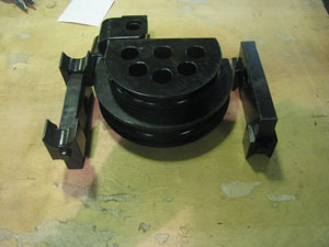 оснастка для трубогибов, гибочные диски для трубогибов, изготовление трубогибов