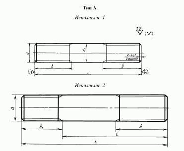 резьбовые шпильки. шпильки по чертежу, изготовление шпилек, производство резьбовых шпилек