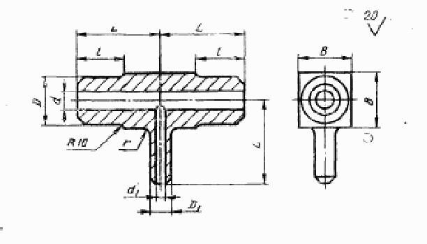 стальные тройники