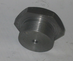 резьбовая заглушка, стальная заглушка