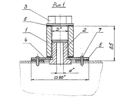 закладные конструкции, отборные устройства температуры, отборные устройства давления