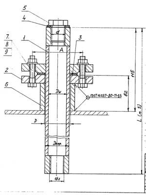 закладные конструкции, импульсная трубка