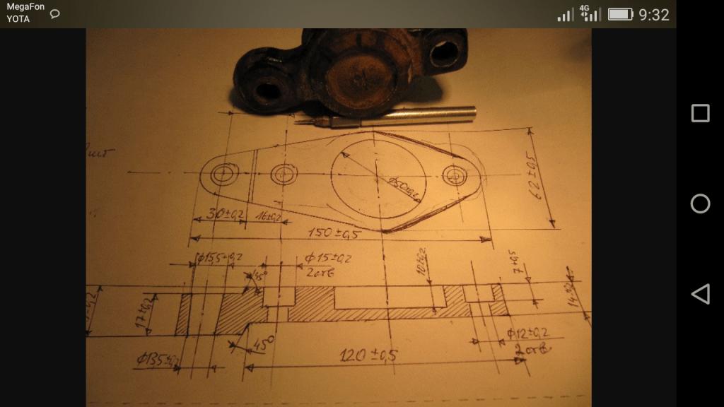 деталь по чертежу