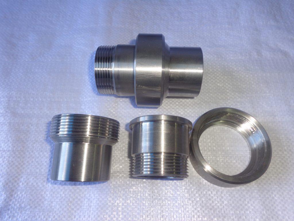 штуцерное соединение, трубное соединение, резьбовое соединение, муфтовое соединение трубопроводов