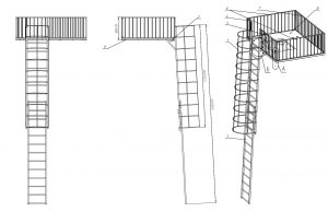 пожарные лестницы, промышленные лестницы, изготовление промышленных лестниц, производство пожарных лесниц
