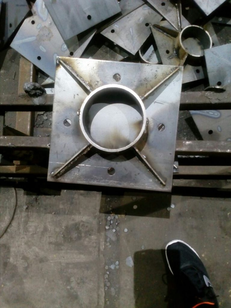 закладные конструкции, обработка металла, сварка металла