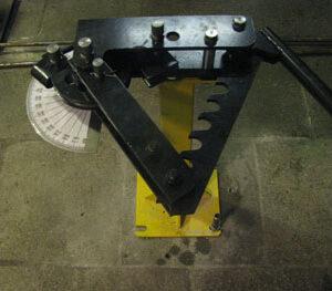 Ручной трубогиб для гибки стальных и нержавеющих труб